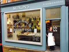 Moxons Fishmonger, Camden Passage